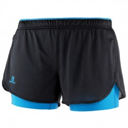 SALOMON AGILE 2 IN 1 SHORT W, ARISTARUN