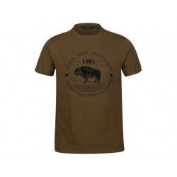 REGATTA CAMISETA CLINE IV Camo green ARISTARUN