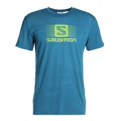 SALOMON CAMISETA MOROCCAN BLUE, ARISTARUN